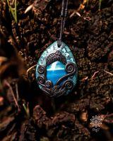 Amulett | Halskette - Achat - blau