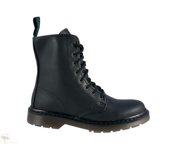Vegan Boots | 8 Eye black - unisex