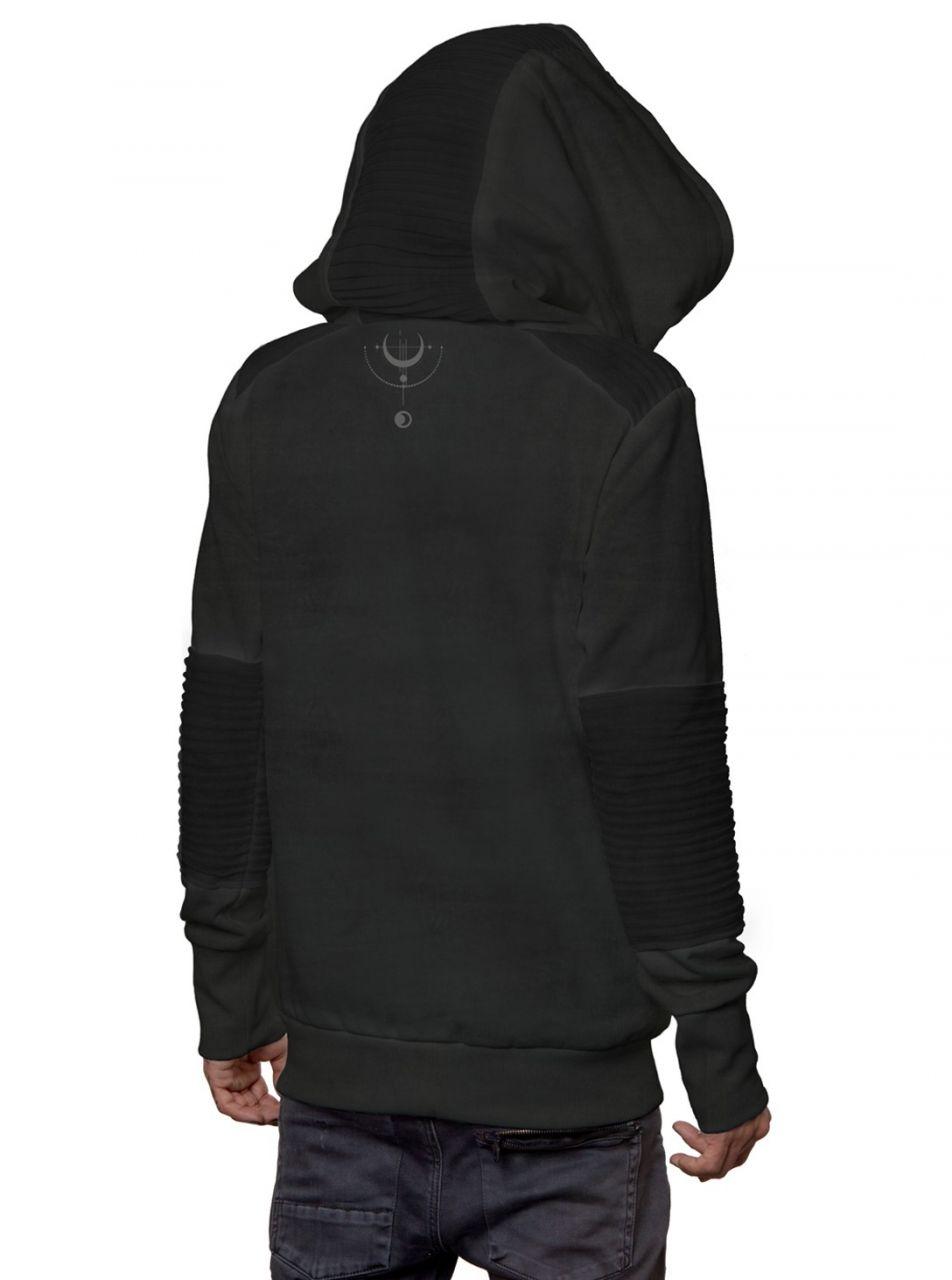 Hoodie Knight | wash black