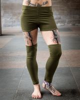 Leggings Suspender | olive