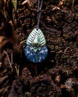 Amulett | Halskette - Lapislazuli & Türkis
