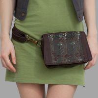 Strap Bag 4th Dimension braun  | uv-aktiv