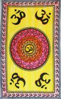 Wandtuch | Überwurf - Hippie OM