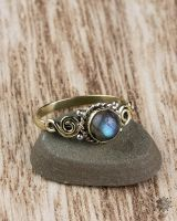 Ring Juna | Labradorit