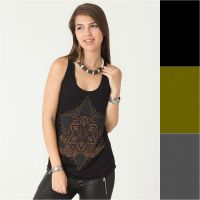 Top Anahata | black | grey | green
