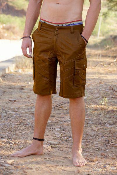 Holsterflaps Shorts | braun