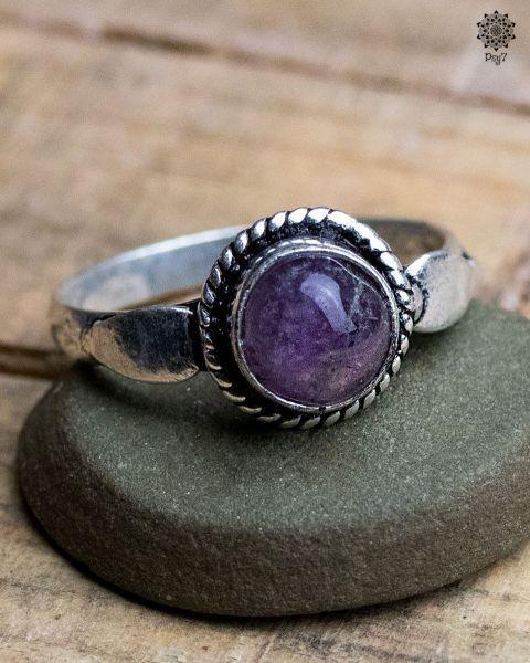 Ring Luna | Amethyst