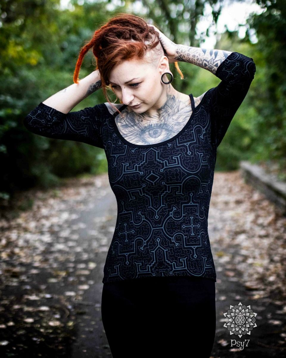 Top Sedna | Black Shipibo
