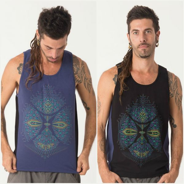 Tank Top Sikuli | blue black