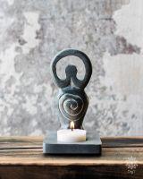 Teelichthalter Speckstein | Göttin
