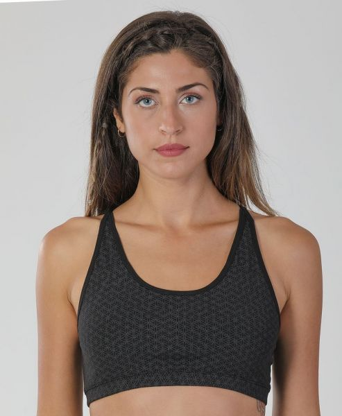 Yoga Top Seeds | schwarz