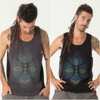 Tank Top Sikuli | grey black