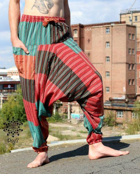 Haremshose Nepal   Colour Patch