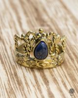 Ring Corona | Lapislazuli